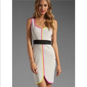 Trina Turk In Love Mini Dress in Multi Neon